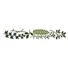 Sizzix Sizzlits Decorative Strip Spring Greenery (659573)