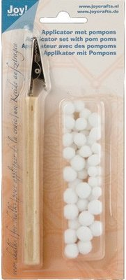Joy!Crafts Applicator Met Pompoms (6200/0204)