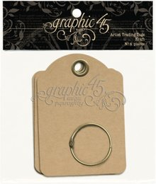 Graphic 45 Artist Trading Tags Kraft (4500847)