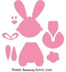 Marianne Design Collectable Bunny (COL1354)