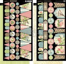 Graphic 45 Botanical Tea Banners (4500890)