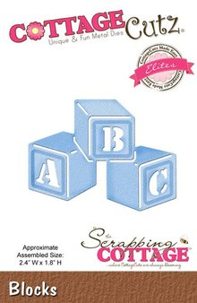 Scrapping Cottage CottageCutz Blocks (Elites) (CCE-139)