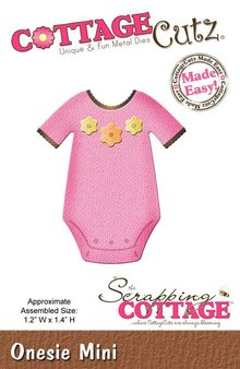 Scrapping Cottage CottageCutz Onesie Mini (CC-MINI-160)