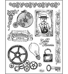 Viva Decor Idfashioned Design Clear Stamp Set (4003 098 00)