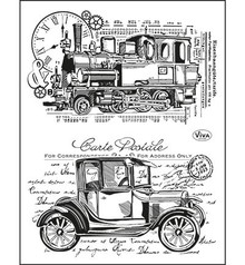 Viva Decor Oldtimer Clear Stamp Set (4003 100 00)