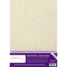 Crafter's Companion Centura Pearl Snow White Hint Of Gold (CP10-SWGLD)