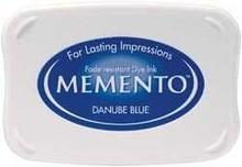 Tsukineko Memento Danube Blue Dye Ink Pad (ME-600)