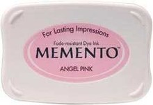 Tsukineko Memento Angel Pink Dye Ink Pad (ME-404)