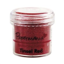 Papermania Embossing Powder Tinsel Red (PMA 4021013)