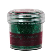 Papermania Embossing Powder Tinsel Green (PMA 4021015)