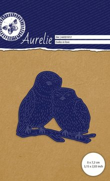Aurelie Verliefde Uilen Snij- & Embossingsmal (AUCD1017)