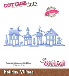Scrapping Cottage CottageCutz Holiday Village (Elites) (CCE-176)