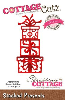 Scrapping Cottage CottageCutz Stacked Presents (Elites) (CCE-194)