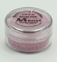 Mboss Embossing Powder Rouge Pink (390101)