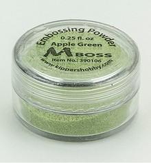 Mboss Embossing Powder Apple Green (390106)