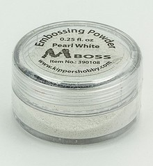 Mboss Embossing Powder Pearl White (390108)