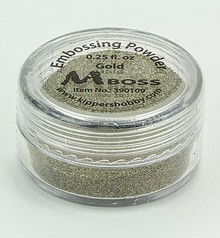 Mboss Embossing Powder Gold (390109)