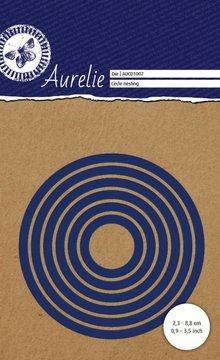 Aurelie Circle Nesting Snij- & Embossingsmal (AUCD1007)