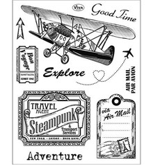 Viva Decor Adventure Clear Stamp Set (4003 111 00)