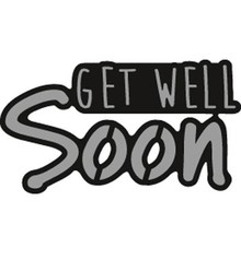 Marianne Design Craftable Get Well Soon (CR1318)