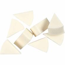 Paperpads.nl SELECT Driehoekige Witte Sponzen 8 Stuks (104680)