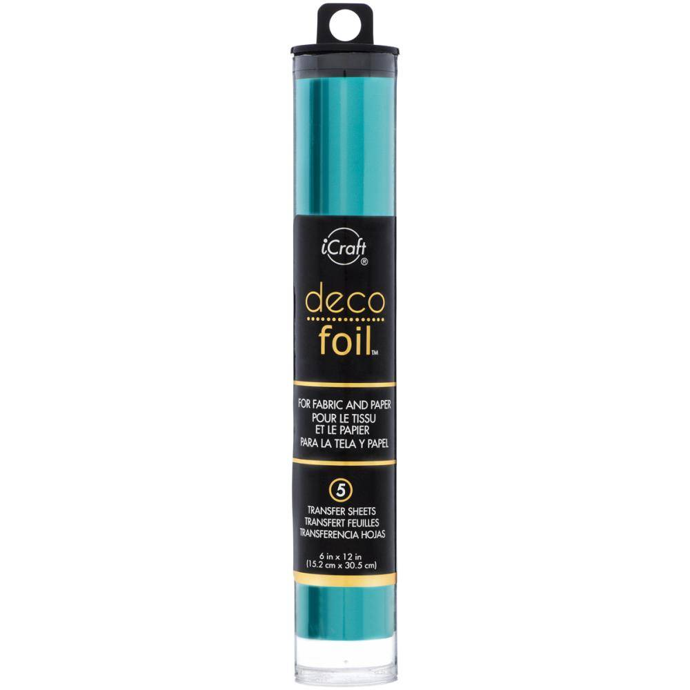 Therm O Web Icraft Deco Foil Teal Df6x12 51175