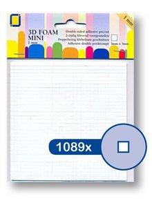 JEJE Produkt 3D Foam Mini 3 mm x 3 mm x 1 mm (3.3095)