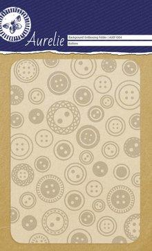 Aurelie Buttons Background Embossing Folder (AUEF1004)