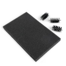 Sizzix Replacement Die Brush Heads & Foam Pad (660514)