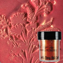 Lindy's Stamp Gang Holly Berry Red Gold Embossing Powder (ep-068)