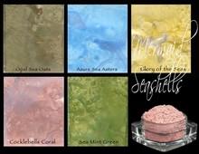 Lindy's Stamp Gang Mermaid Seashells Magical Set (mag-07)