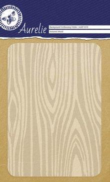 Aurelie Textured Wood Background Embossing Folder (AUEF1010)