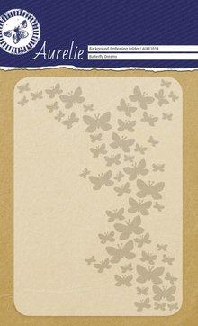 Aurelie Butterfly Dreams Background Embossing Folder (AUEF1014)