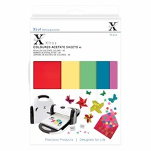 Xcut Xtra A5 Coloured Acetate Sheets (15pcs) (XCU 174401)