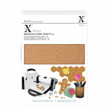 Xcut Xtra A5 Adhesive Cork Sheets (15pcs) (XCU 174403)