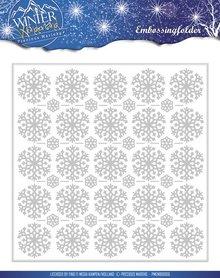 Precious Marieke Winter Wonderland Embossing Folder (PMEMB10006)