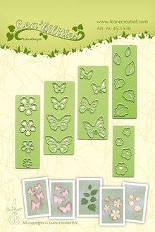 Leane Creatief Lea'bilities Butterflies & Flowers (45.1536)