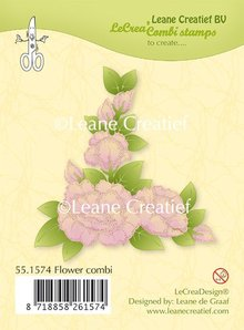 Leane Creatief Flower Combi Clear Stamps (55.1574)