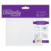 Docrafts Creativity Essentials A6 Clear Stamp Block (DEC 903102)