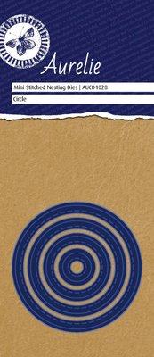Aurelie Stitched Circle Mini Nesting Die (AUCD1028)