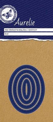 Aurelie Stitched Oval Mini Nesting Die (AUCD1029)