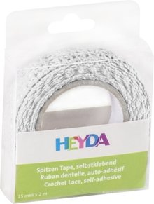 Heyda Self-Adhesive Crochet Lace Wit (203584500)