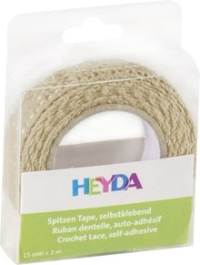 Heyda Self-Adhesive Crochet Lace Vanille (203584513)