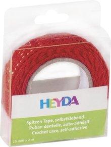 Heyda Self-Adhesive Crochet Lace Rood (203584524)