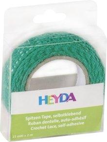 Heyda Self-Adhesive Crochet Lace Turquoise (203584556)