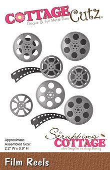 Scrapping Cottage CottageCutz Film Reels (CC-094)