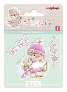 ScrapBerry's Set Of Clear Rubber Stamps 7x7 cm My Little Star 2 (SCB4907043)