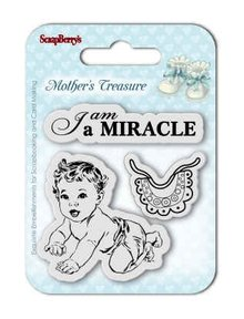 ScrapBerry's Mother's Treasure Miracle 7x7 cm Clear Stamps (SCB4907024)