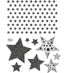 Viva Decor Stars Clear Stamp Set (4003 147 00)