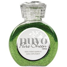 Nuvo Pure Sheen Glitter Green Meadow (NPSG 717)